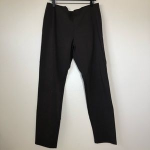Eileen Fisher Brown Slim stretch pants new